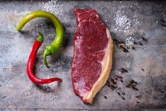 Raw steak Royalty Free Stock Photos
