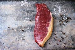 Raw steak Stock Images