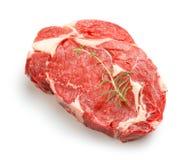 Raw steak Stock Photography