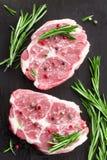 Raw steak Stock Photos