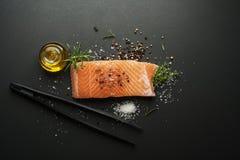Salmon fish Stock Image