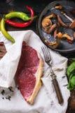 Raw steak Stock Photo