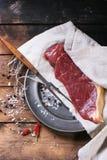 Raw steak Royalty Free Stock Photo