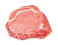 Raw steak on white background Stock Photography