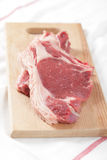Raw steaks Royalty Free Stock Photos