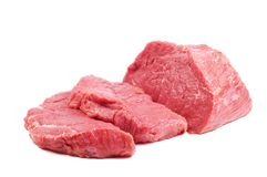 Raw steaks Royalty Free Stock Images