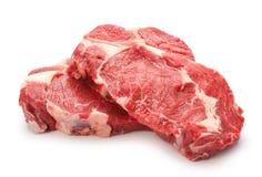 Raw steaks Royalty Free Stock Photo
