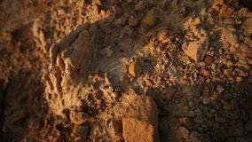 Raw stone Texture close up stock footage