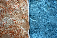 Raw stone tiles Stock Photography