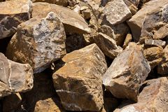 Raw stones Royalty Free Stock Photos
