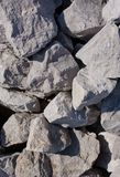 Raw stones Royalty Free Stock Images