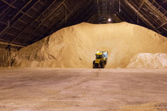 Raw Sugar Pile Stock Images