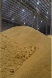 Raw sugar pile Royalty Free Stock Image