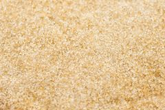 Raw Sugar, Unrefine. Unrefine Raw Sugar. Top view a texture of Brown sugar crystals. product from sugarcane. - High resolution Royalty Free Stock Images
