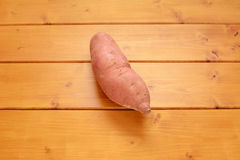 Raw sweet potato Stock Image
