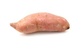 Raw sweet potato Stock Images