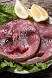 Raw swordfish Stock Photo