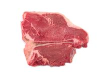 Raw T Bone Steak Royalty Free Stock Photography