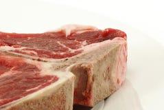 Raw T-Bone Steak Royalty Free Stock Photos