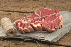 Raw t-bone steak Stock Photo