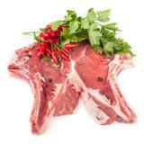 Raw T-Bone Steaks Stock Images