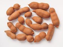 Raw tamarind fruits Stock Image