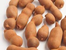 Raw tamarind fruits Stock Photos