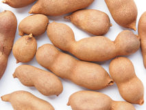 Raw tamarind fruits Royalty Free Stock Image