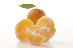 Raw tangerine Royalty Free Stock Images