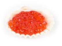 Raw tasty red caviar Stock Photo