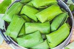 Raw thai tradition dessert Stock Images