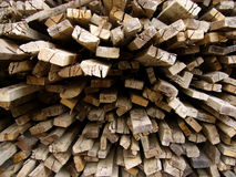 Raw Timber. Raw timbers use for contraction Stock Photography