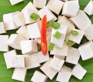 Raw tofu Stock Photo