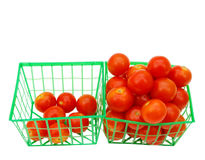 Raw tomato cherry Royalty Free Stock Images