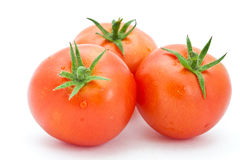 Raw tomatoes Stock Photography