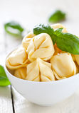 Raw tortellini Stock Photos