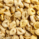 Raw tortellini Stock Image