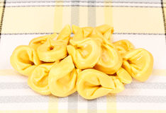 Raw Tortellini Pasta Stock Photography