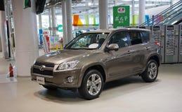 2017 RAW4 Toyota samochód Japonia Zdjęcia Stock