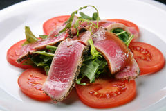 Raw tuna Royalty Free Stock Image