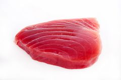 Raw tuna fish Royalty Free Stock Images
