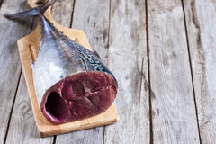 Raw tuna Royalty Free Stock Photo