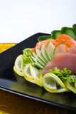 Raw tuna salmon Stock Image