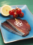 Raw tuna steaks Royalty Free Stock Photography