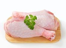 Raw turkey legs Stock Photography