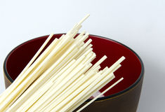 Raw Udon Noodles Royalty Free Stock Photo