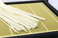 Raw Udon Noodles Stock Photos