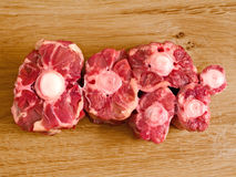 Raw uncooked beef tail Stock Image