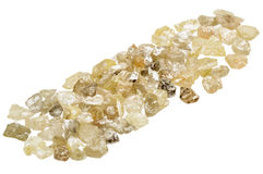 Raw uncut diamonds Royalty Free Stock Image