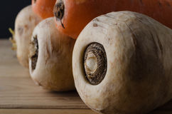 Raw Unwashed Root Vegetables Royalty Free Stock Images